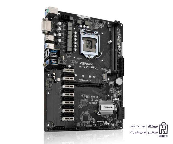 مادربورد ASRock H110 Pro BTC+ LGA 1151